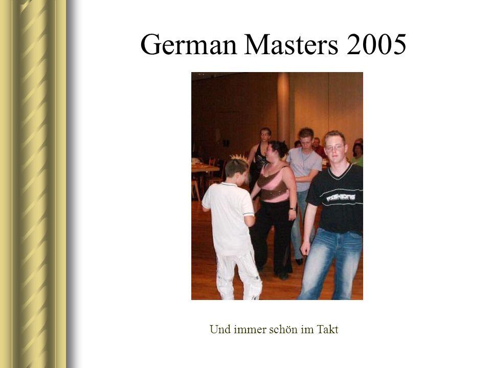 Swiss Masters 2005 Die Jungs bei Ihrer Lieblingsbeschäftigung