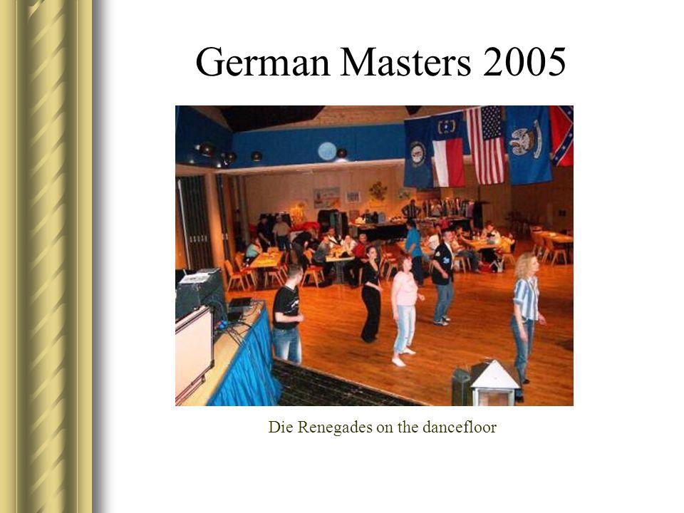 German Masters 2005 Die Renegades on the dancefloor