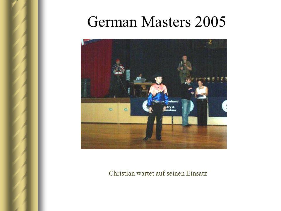 German Masters 2005 Christian – immer schön mit den Armen