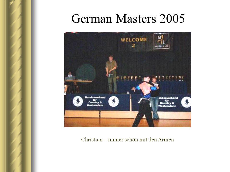 German Masters 2005 Jasmin beim Warm up