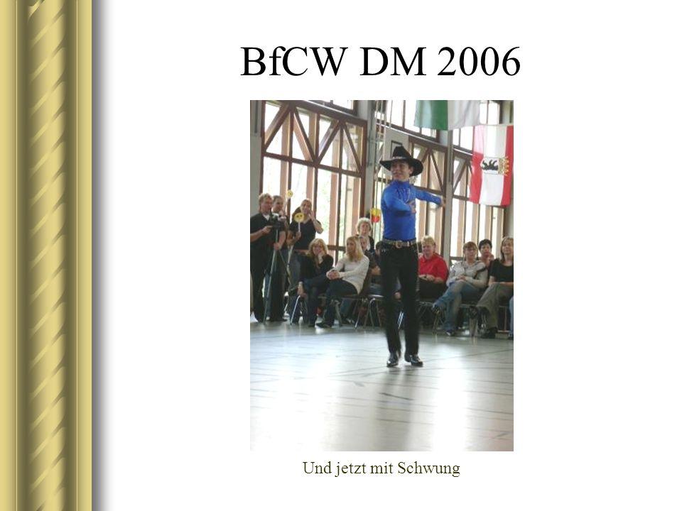 BfCW DM 2006 Und jetzt mit Schwung