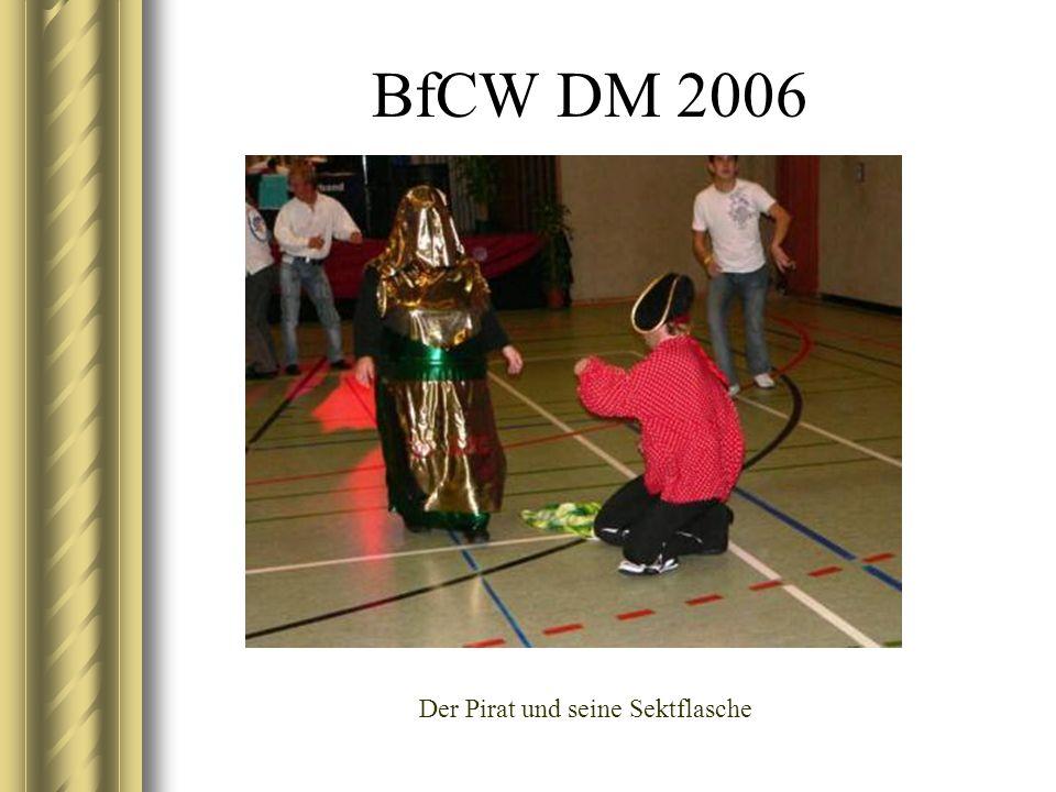 BfCW DM 2006 Der Pirat und seine Sektflasche