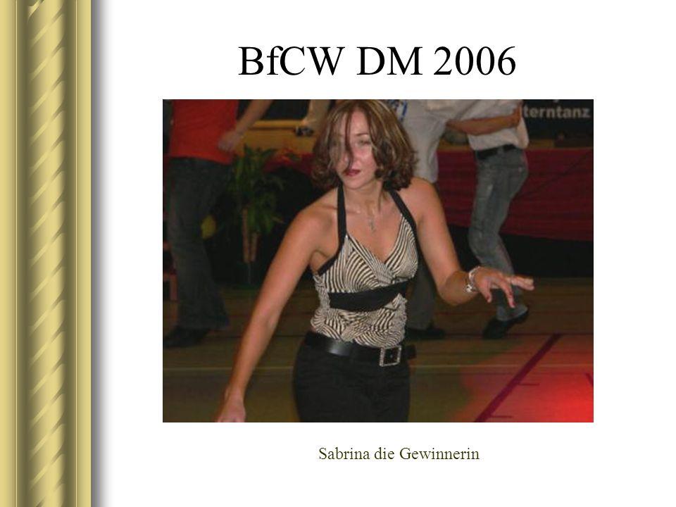 BfCW DM 2006 Sabrina die Gewinnerin