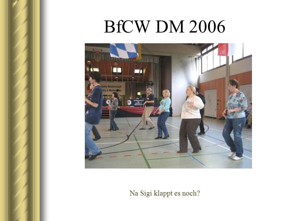 BfCW DM 2006 Aus der Abendshow – Showprogramm von Yvonne