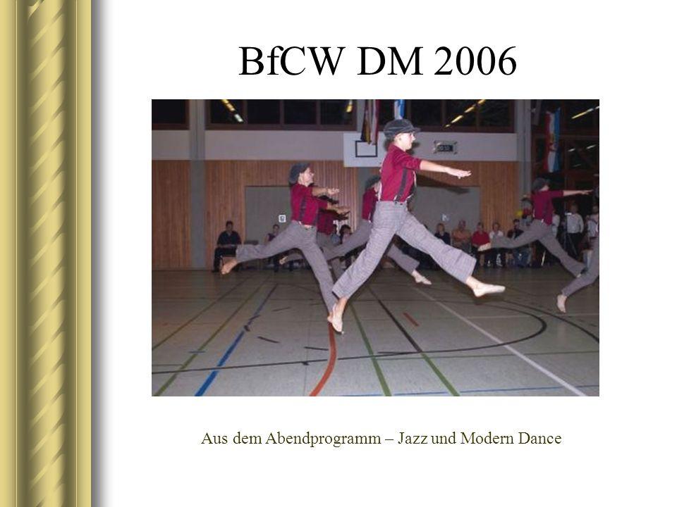 BfCW DM 2006 Aus dem Abendprogramm – Jazz und Modern Dance