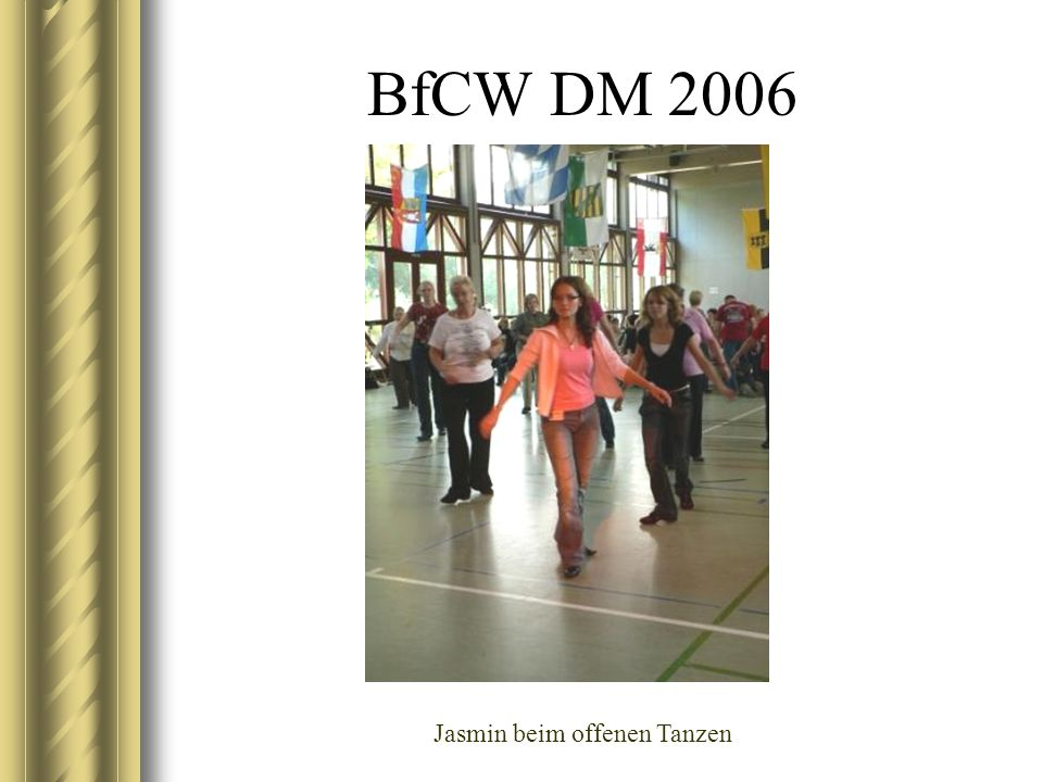 BfCW DM 2006 Aus der Abendshow