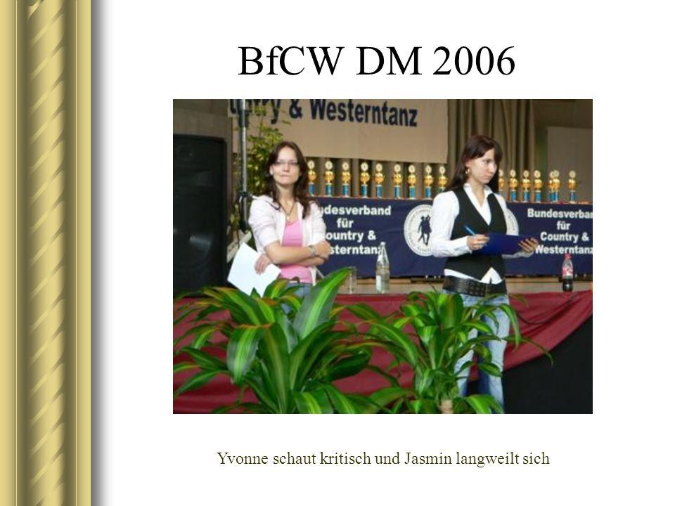 BfCW DM 2006 Alice und Michael beim Judgen
