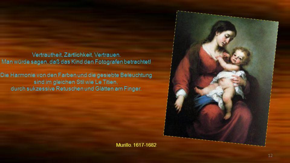 11 Ausgetauscht von Zärtlichkeit und Vertrauen zwischen der Mutter und dem Kind gierig von der Muttermilch. Dieses Gemälde ist zweifellos