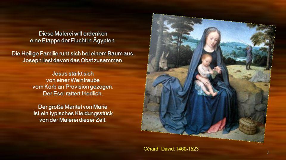 1 Hybouves présente Die Mutter und das Kind. Tableaux des XVème et XVIème siècles. Ave Maria de Schubert Marie. Laissez se dérouler le diaporama Durée