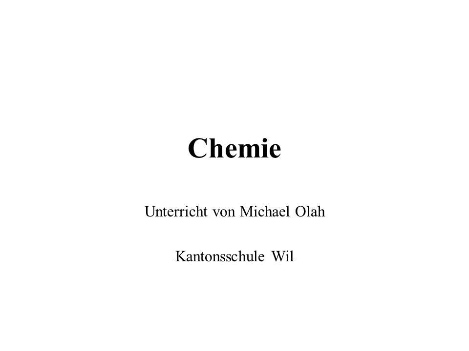 Chemie Unterricht von Michael Olah Kantonsschule Wil