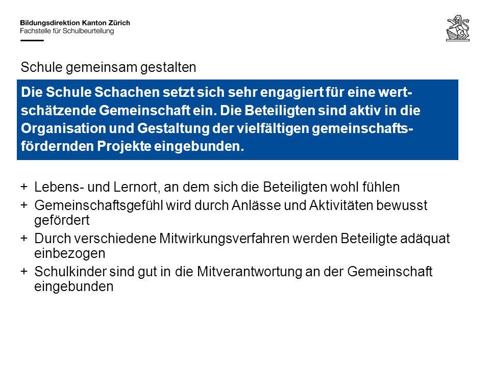 Bildungsdirektion Kanton Zürich Fachstelle für Schulbeurteilung Ausstellungsstrasse 80, Postfach 8090 Zürich Pause