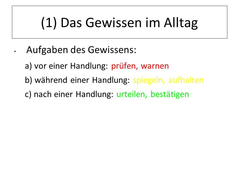 12.07.11 (2) Philosophische Positionen Kritische Positionen zum Gewissen: Johann Gottlieb Fichte (1762-1814) Gewissen ist bloßes Gefühl.