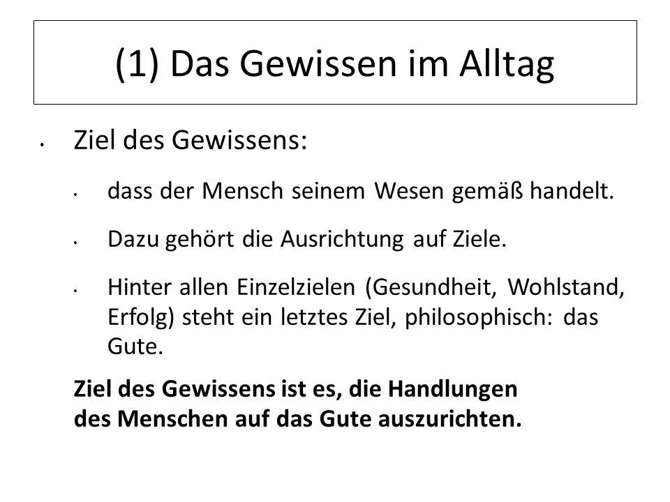 12.07.11 (4) Gewissen gemäß dem GG Gewissen im Staat vor dem Zugriff des Staates geschützter Bereich (forum internum).