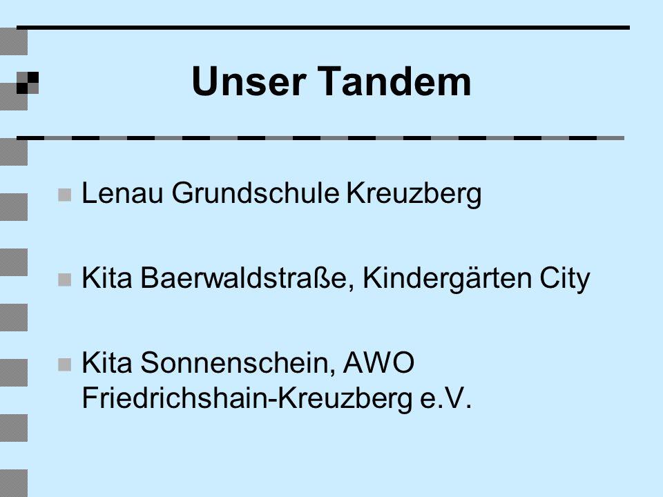 Unser Tandem Lenau Grundschule Kreuzberg Kita Baerwaldstraße, Kindergärten City Kita Sonnenschein, AWO Friedrichshain-Kreuzberg e.V.