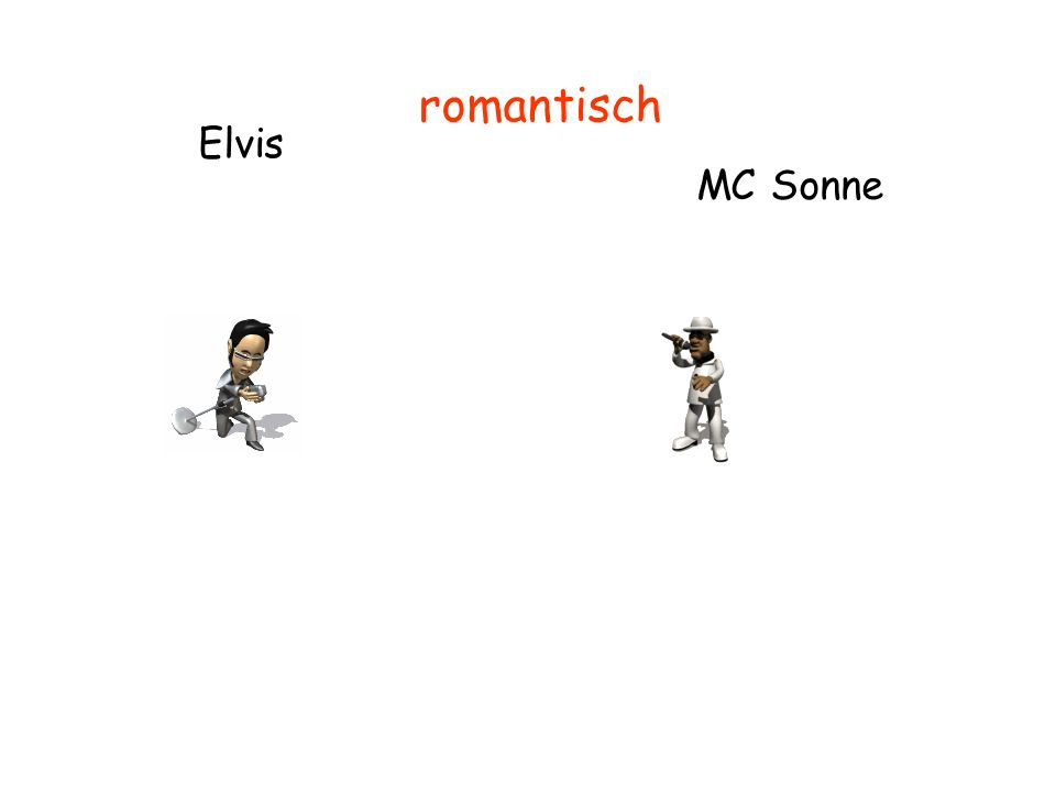 Elvis MC Sonne romantisch