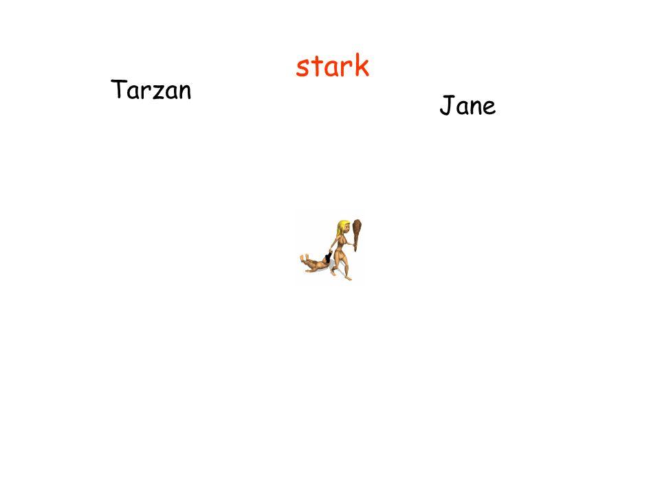 Tarzan Jane stark