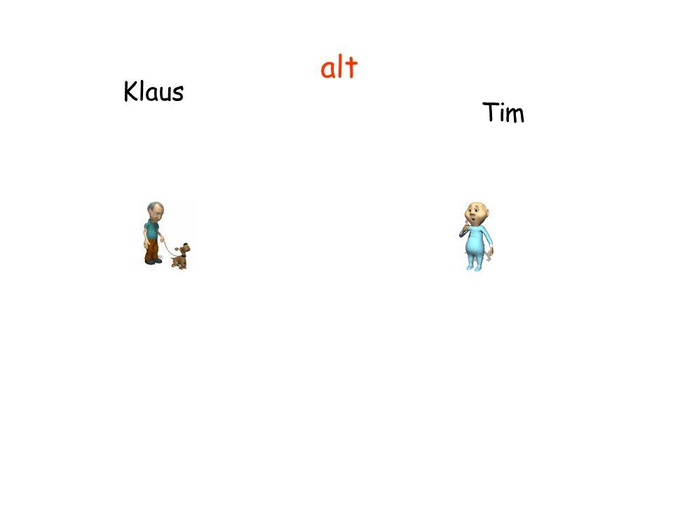Klaus Tim alt