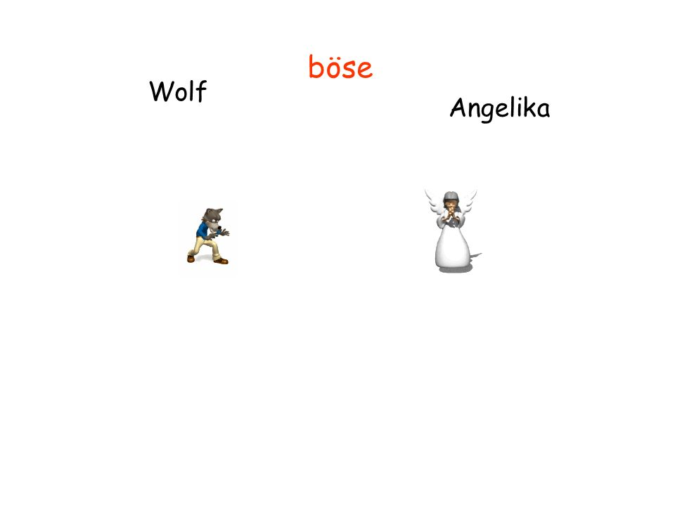 Wolf Angelika böse