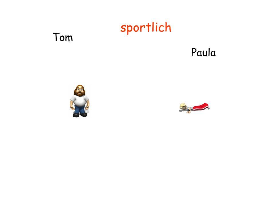 Tom Paula sportlich
