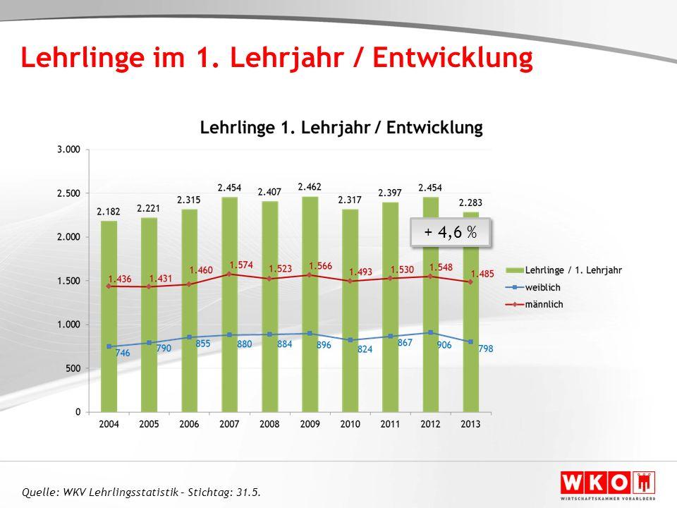 Der Wettbewerb um die Jugendlichen 2 Vorarlberg als Wirtschaftsstandort 1
