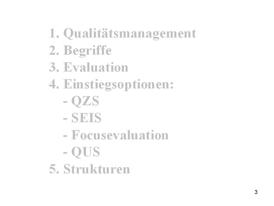 2 Modell des Pädagogischen Qualitätsmanagements von H.-G. Rolff Drei Entwicklungsachsen des PQM (3 Treiber) Zielführendes Handeln Teamentwicklung Feed