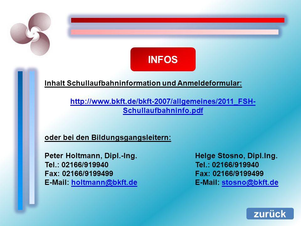INFOS zurück Inhalt Schullaufbahninformation und Anmeldeformular: http://www.bkft.de/bkft-2007/allgemeines/2011_FSH- Schullaufbahninfo.pdf oder bei de