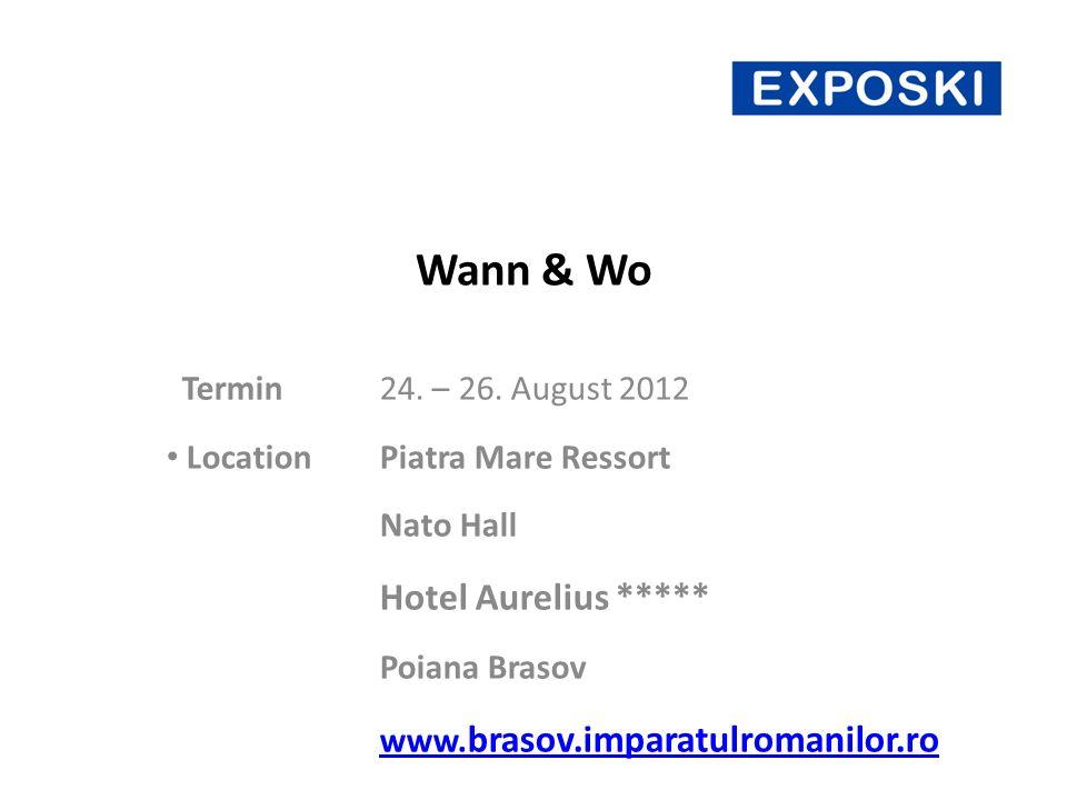 Wann & Wo Termin24. – 26.