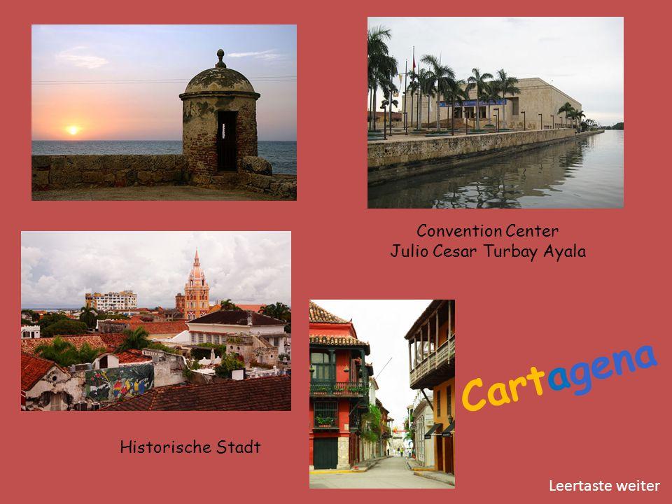 Cartagena Historische Stadt Convention Center Julio Cesar Turbay Ayala Leertaste weiter
