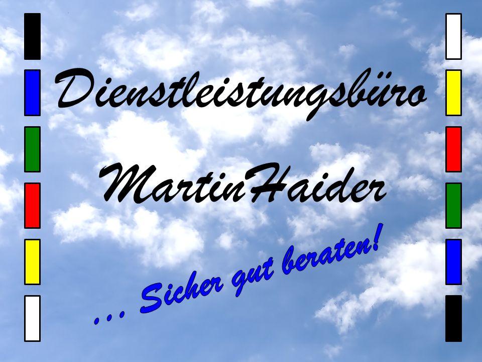 Dienstleistungsbüro Martin Haider