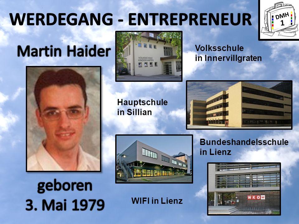 DMH 1 Volksschule in Innervillgraten Hauptschule in Sillian Bundeshandelsschule in Lienz WIFI in Lienz