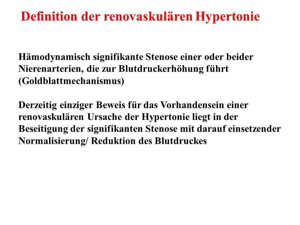 NAST im Trend (USA 1992-2004) Atherosclerotic renovascular disease in the United States Kalra et al; Kidney Int 2010;77: 37-43