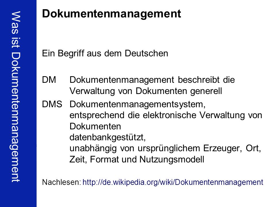 4 BCH Business Frühstück DMS & Wirtschaftlichkeit Dr. Ulrich Kampffmeyer PROJECT CONSULT Unternehmensberatung Dr. Ulrich Kampffmeyer GmbH Isestraße 63