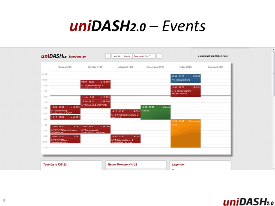 uniDASH 2.0 – Events 3