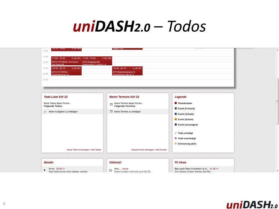 uniDASH 2.0 – Todos 4