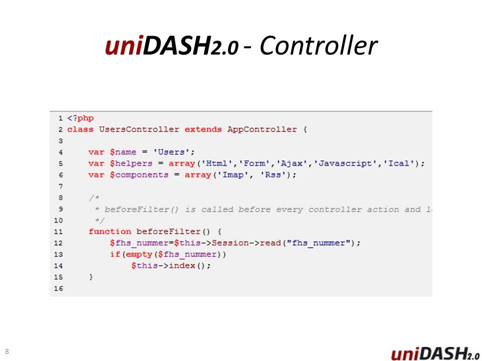 uniDASH 2.0 - Controller 8