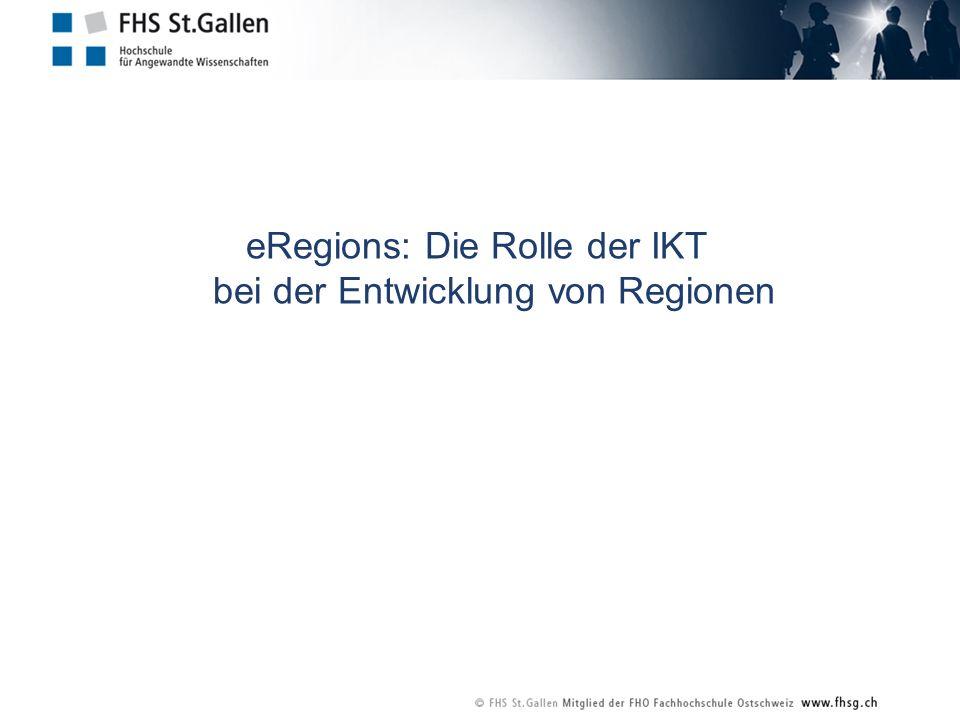 eRegions: Die Rolle der IKT bei der Entwicklung von Regionen