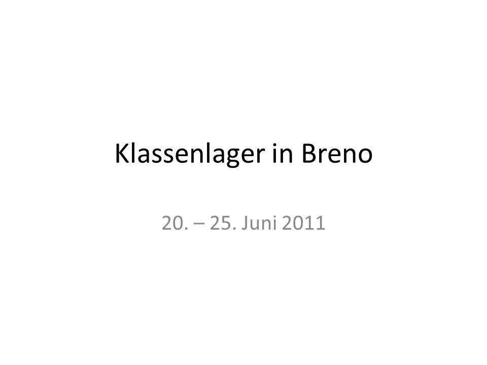 Klassenlager in Breno 20. – 25. Juni 2011