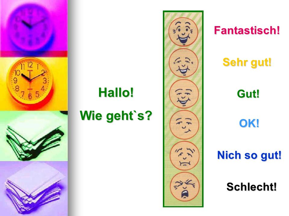 Použitá literatúra: Projekt Deutsch Lehrbuch 1 ZŠ Lozorno