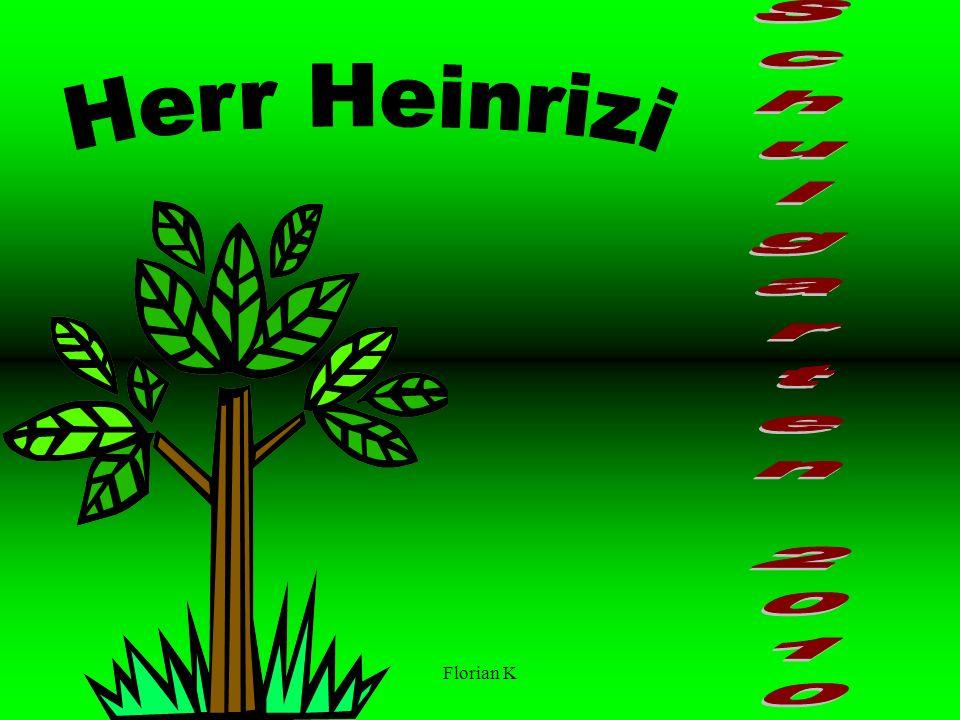 Florian K Für den Herrn Heinritzi Von den Schülern Der Justus von Liebig Schule Heufeld