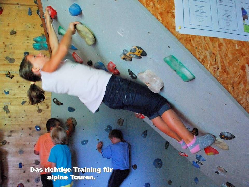 Das richtige Training für alpine Touren.