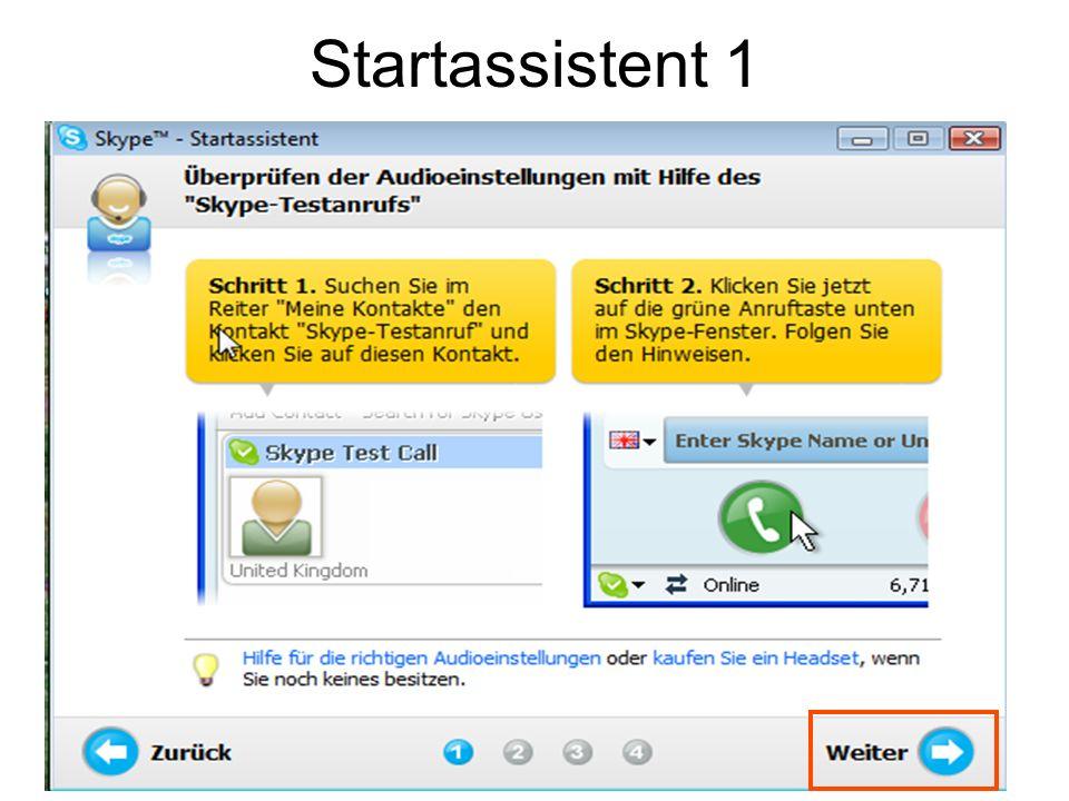 Startassistent 1