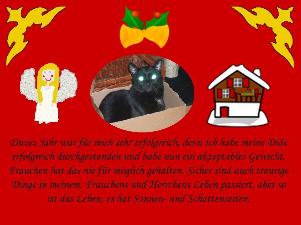 Liebe Katzenfreunde, mit dieser kleinen Präsentation möchte ich euch einen lieben Weihnachtsgruss senden und ein paar Gedanken zu Weihnachten und diesem Jahr äußern.