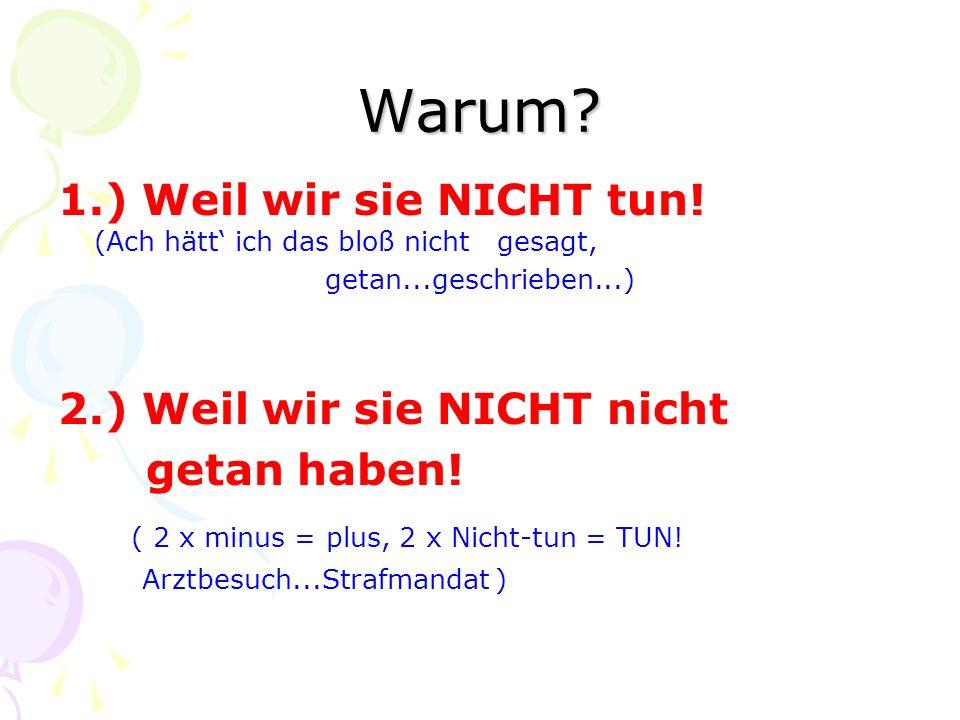 4 Formen des Nichts: 1.) Das physikalische, (z.B.