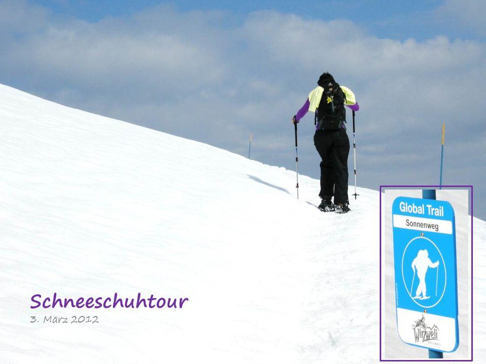 Schneeschuhtour 3. März 2012