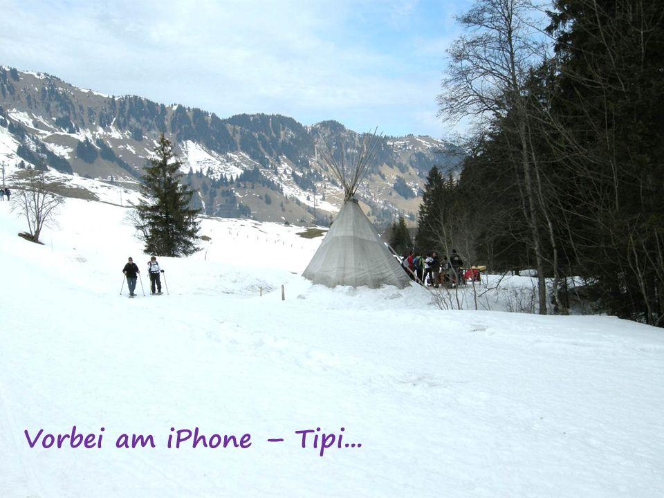 Vorbei am iPhone – Tipi...