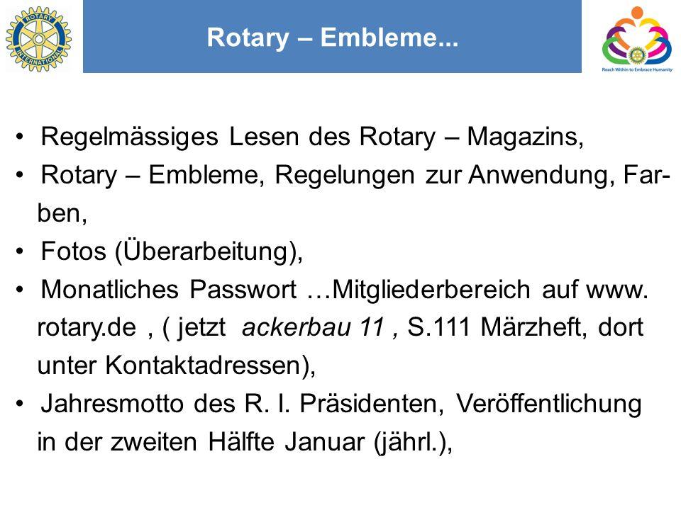 Rotary – Embleme...