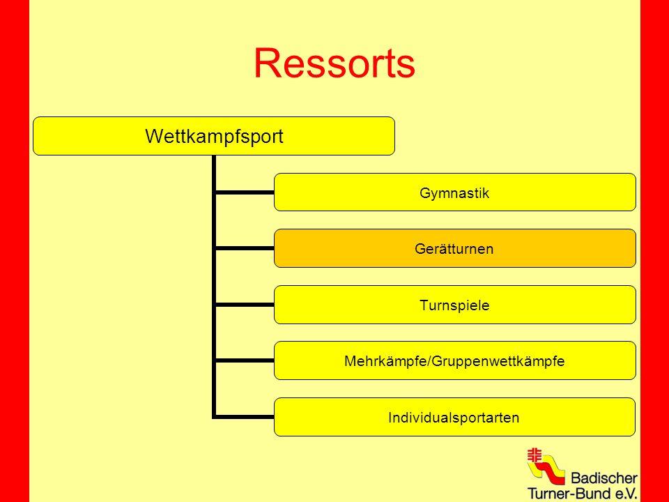 Ressorts Wettkampfsport Gymnastik Gerätturnen Turnspiele Mehrkämpfe/Gruppenwettkämpfe Individualsportarten