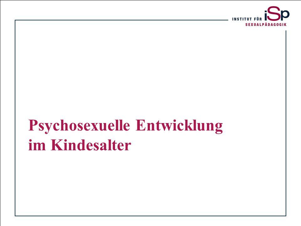 Titelfolie Psychosexuelle Entwicklung im Kindesalter