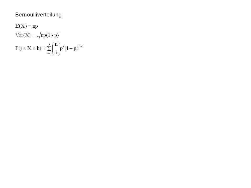 Urnenmodelle Urne mit N verschiedenartigen Kugeln (n 1, n 2, …, n k ) P(Kugel j-ter Sorte) = n j /N n-maliges Ziehen mit Zurücklegen (2 Sorten): n-mal
