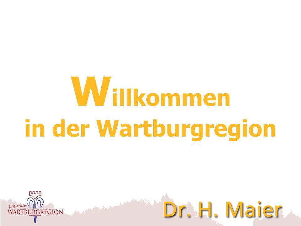 W illkommen in der Wartburgregion